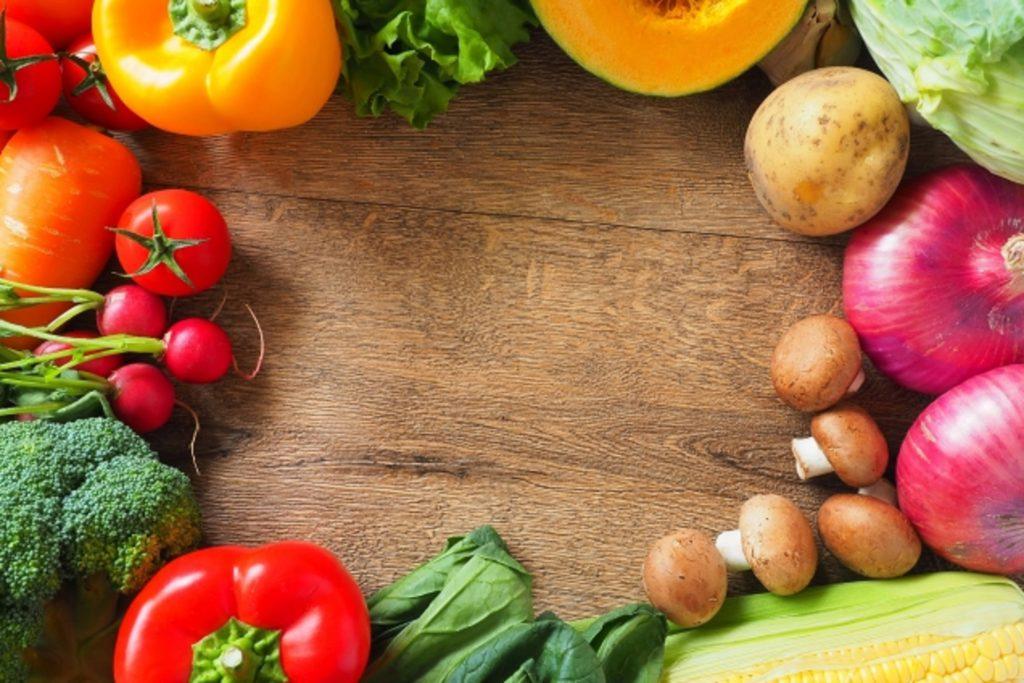 たくさんの栄養が入った野菜