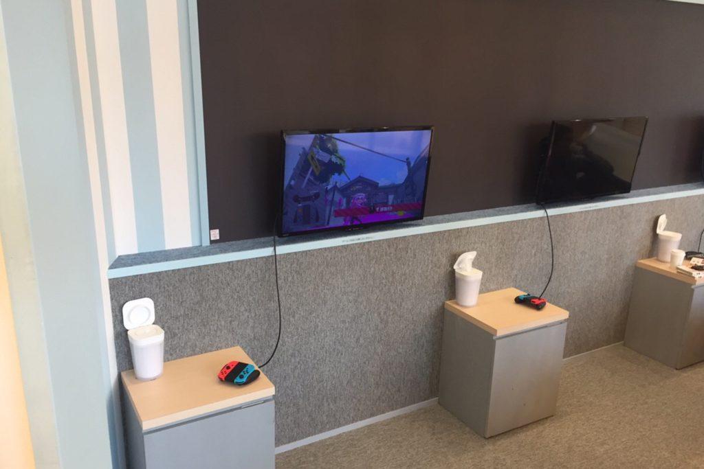 モカの店内のゲームスペース