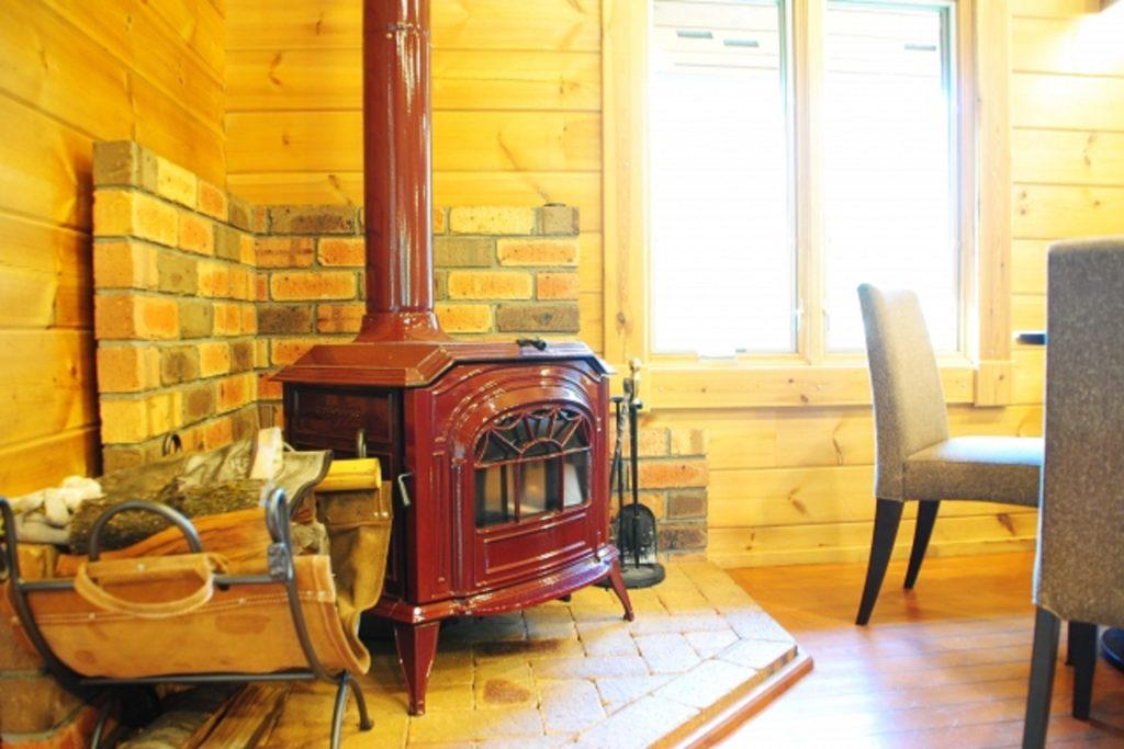 暖炉がある部屋