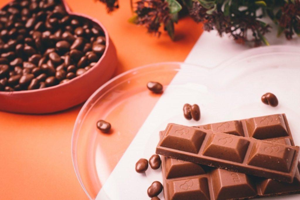 麦チョコと板チョコ
